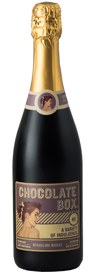 chocolate box sparkling shiraz nv